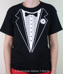 B&W Tuxedo T-Shirt (Childrens Sizes)