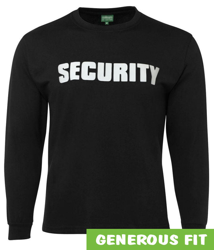 Security Longsleeve T-Shirt (Black)