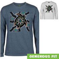 Turtle Nest Longsleeve T-Shirt by Shannon Shaw (Various Colours)