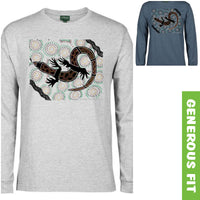 My Lizard Longsleeve T-Shirt by Shannon Shaw (Various Colours)