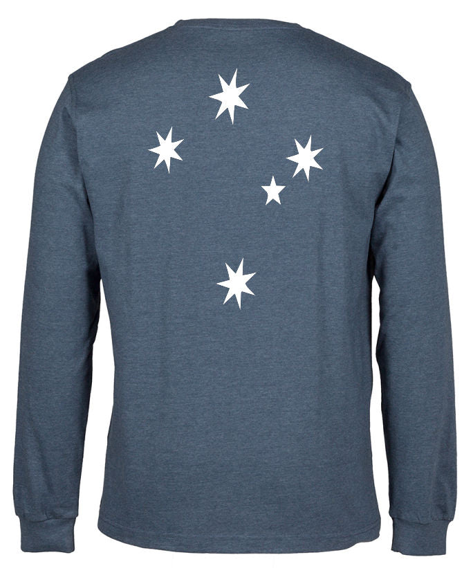 Southern Cross Longsleeve T-Shirt (Back Print)