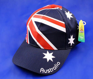 Allover Australian Flag Baseball Cap