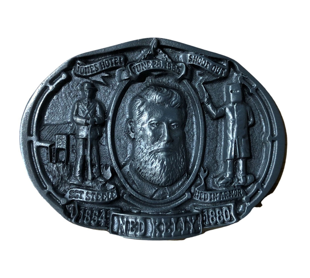 Ned Kelly Bushranger Buckle (Medium)