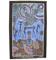 Hunter & Gatherer Reef Aboriginal Art Tea Towel