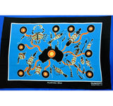 Map & Animals Aboriginal Art Tea Towel
