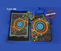 Kunakaatja Aboriginal Art 3 Piece Kitchen Set