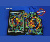 Utinat Aboriginal Art 3 Piece Kitchen Set