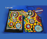 Rankuraan Aboriginal Art 3 Piece Kitchen Set