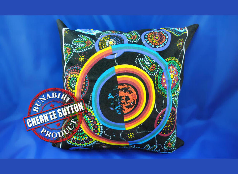 Utinat Aboriginal Cushion Cover