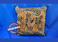 Hunter & Gatherer Land Aboriginal Cushion Cover