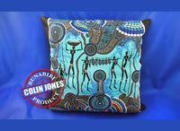 Hunter & Gatherer Reef Aboriginal Cushion Cover