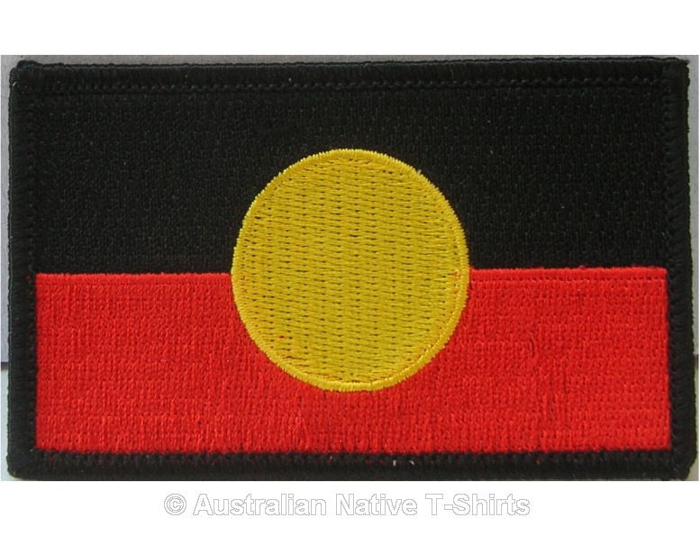 Aboriginal Flag Iron On Patch