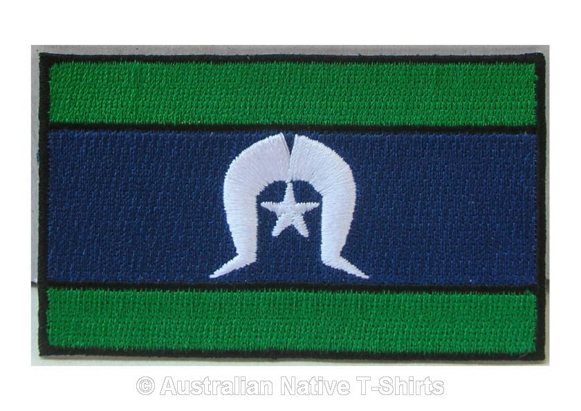 Torres Strait Island Flag Iron On Patch
