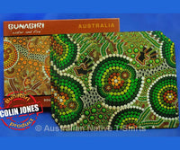 Dot Green Aboriginal Art Placemats (Set of 4)