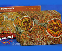 Dot Ochre Aboriginal Art Placemats (Set of 4)