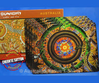 Wanaka Aboriginal Art Placemats (Set of 4)