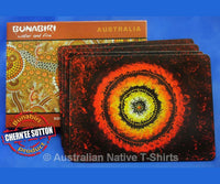 Maraputankali Aboriginal Art Placemats (Set of 4)