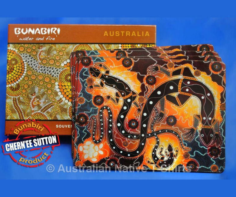 Jurutu Kutu Aboriginal Art Placemats (Set of 4)