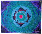Dolphins Dreaming Aboriginal Art Print