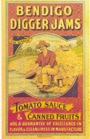 Bendigo Digger Jams Advertising Poster