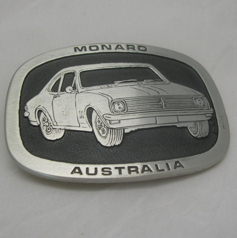 HK Holden Monaro Pewter Belt Buckle