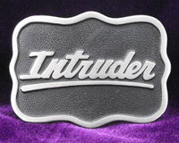 Intruder Pewter Belt Buckle (Large)