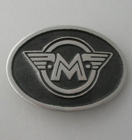 Matchless Motorcycles Pewter Belt Buckle (Large)