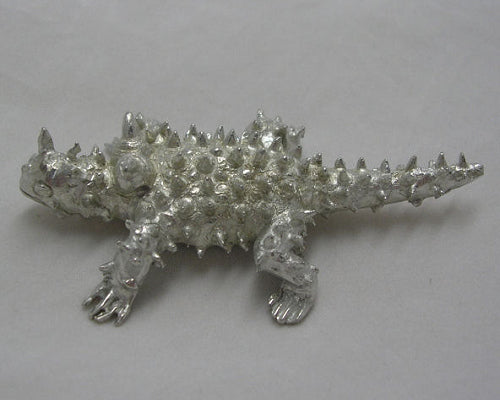 Thorny Devil Pewter Figure (Large)