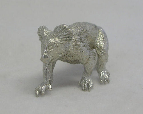 Australian Koala Walking Pewter Figurine (Small)