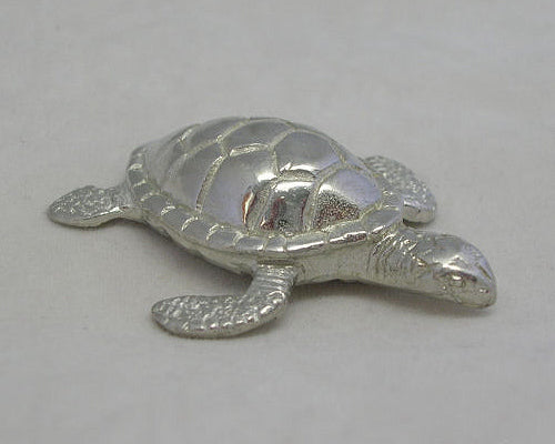 Green Turtle Pewter Figurine (Small 4.5cm)
