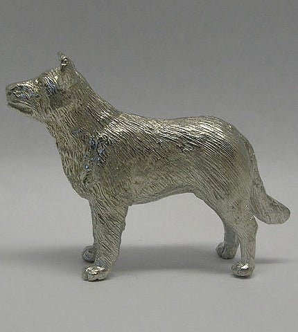 Australian Cattle Dog Pewter Figurine (6.5cm)