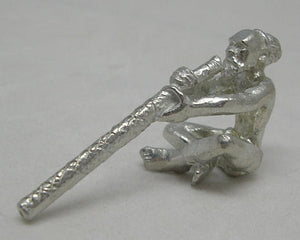 Aboriginal Didgeridoo Player Pewter Figurine (Small)