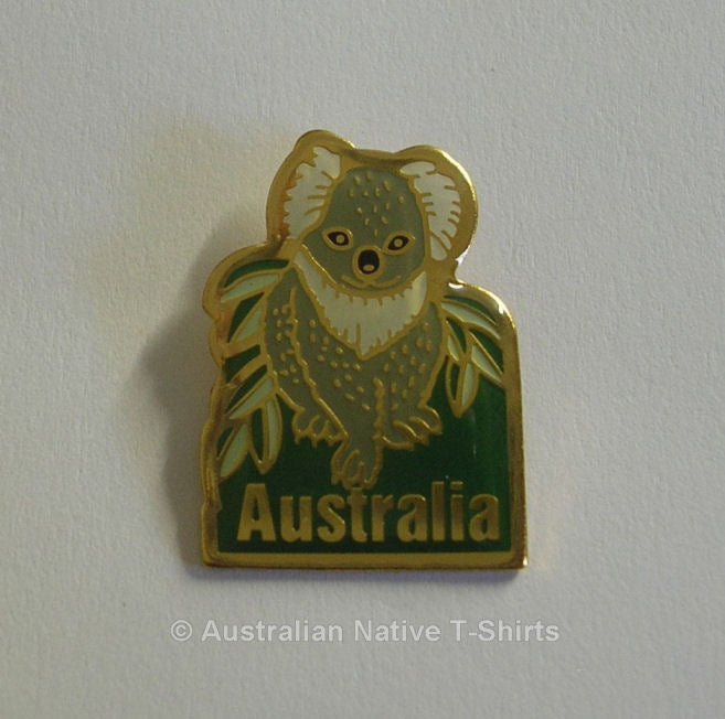 Koala Australia Metal Badge