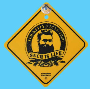 Ned Kelly Road Sign (Souvenir)