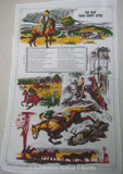 Man From Snowy River Souvenir Tea Towel