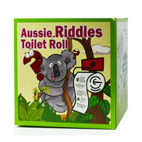Aussie Riddles Novelty Toilet Roll