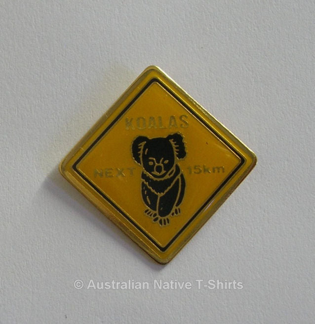 Koalas Next 15km Metal Badge