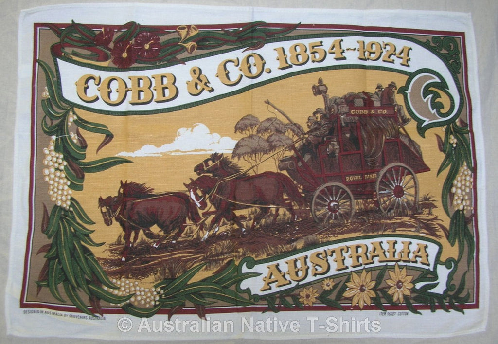 Cobb & Co Souvenir Tea Towel