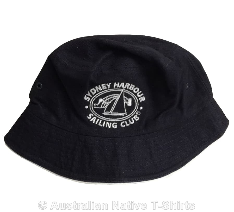 Sydney Harbour Sailing Club Souvenir Bucket Hat (Navy)