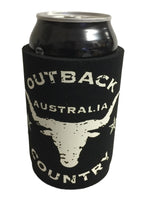 Outback Skull Stubby Holder