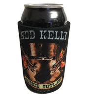 Ned Kelly Flames Stubby Holder