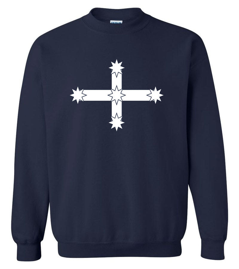 Eureka Flag Crew Neck Sweatshirt (Navy)