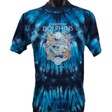 Dolphins Dreaming Aboriginal Art Tie Dye T-Shirt