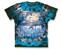 Dolphin Harmony Adults Tie Dye T-Shirt