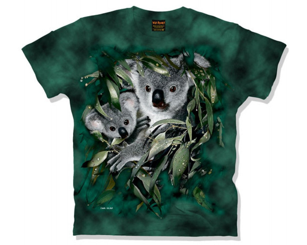 Koala Habitat Adults Tie Dye T-Shirt