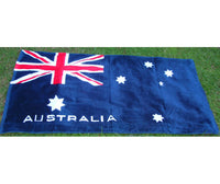 Australian Flag Beach Towel (Dark Blue)