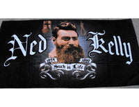 Ned Kelly Such Is Life Beach Towel