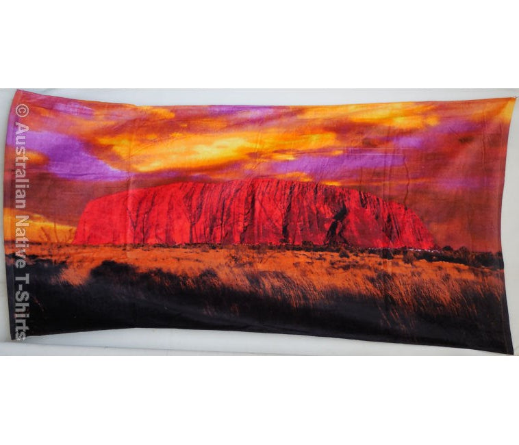 The Rock - Uluru Beach Towel