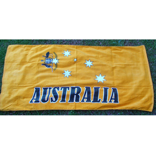 Aussie Gold Beach Towel