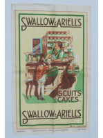 Swallow & Ariells Poster Print Tea Towel